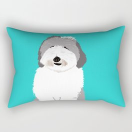 Lucy The Sheepadoodle Rectangular Pillow