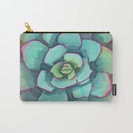 Sunset Succulent Carry-All Pouch
