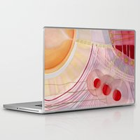 wedding Laptop & iPad Skins featuring Wedding Lights by Angella Meanix