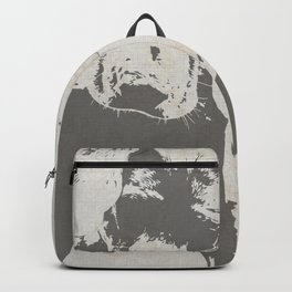CURIOUS WEIMARANER Backpack
