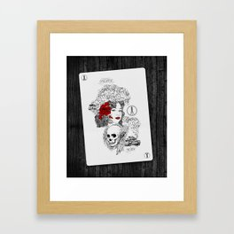 Peace & War Framed Art Print