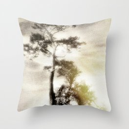 Deadly silence... Throw Pillow