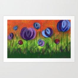 Flores 3 Art Print