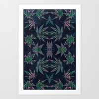 weed Art Prints featuring Weed by SmileyTheRager