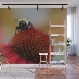 Bee at Work Wall Mural