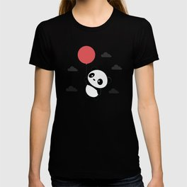 Kawaii Cute Panda Flying T-shirt