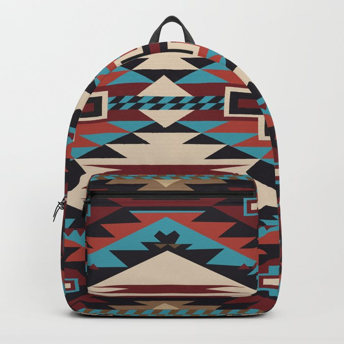American Native Pattern No. 67 Rucksack