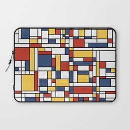 Mondrian De Stijl Pattern Laptop Sleeve