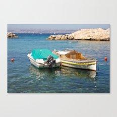 Floating Marseille Canvas Print