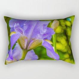 the lonely wild flower Rectangular Pillow