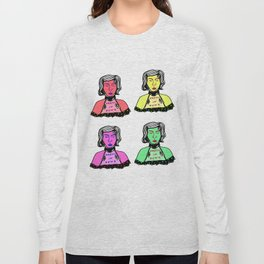4 Color Punks Long Sleeve T-shirt