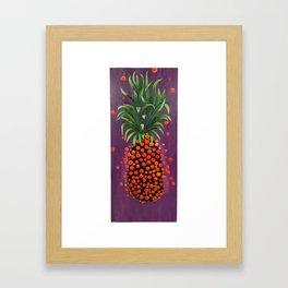Shimmy Shimmy Pineapple Framed Art Print