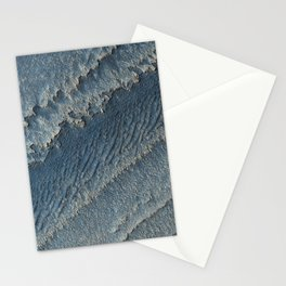 martian-made crater ripples | space #15 Stationery Cards