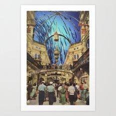 Ocean Mall Art Print