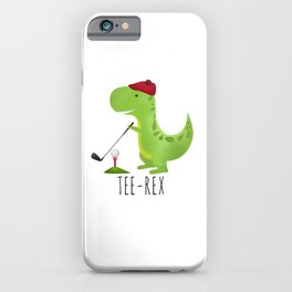 Tee-Rex iPhone Case
