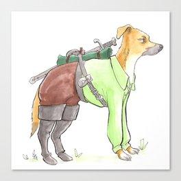 DogDays19 Torveig Canvas Print