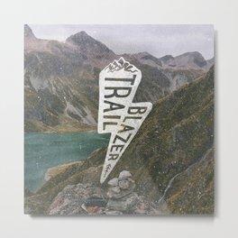 Trail Blazer Metal Print