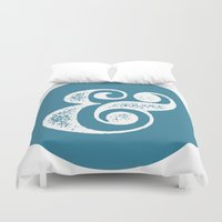 ampersand Duvet Covers featuring Ampersand by AndyGD