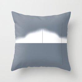 Calculus Gray Throw Pillow