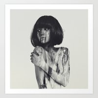 andreas preis Art Prints featuring Tears by Andreas Lie