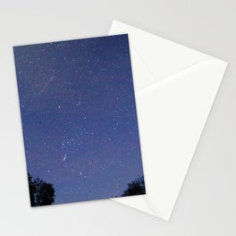 Orion meteor shower Stationery Cards