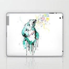 Bashful Bear. Laptop & iPad Skin