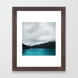 The Waters And The Wild Framed Art Print