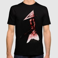 Pyramid Head 2.0 Fine Art Print Black Mens Fitted Tee MEDIUM