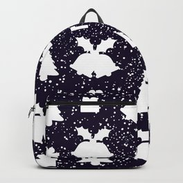 White Christmas decorations Backpack
