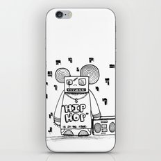 hip hop is all the rage iPhone & iPod Skin