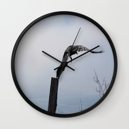 Island Bird Wall Clock