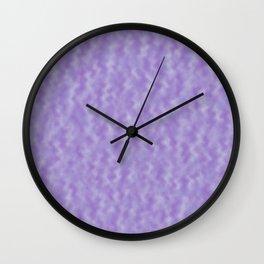 Purple Abstract   Wall Clock
