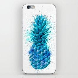 Blue Pineapple iPhone Skin
