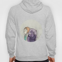 Amethyst and Pearl Hoody