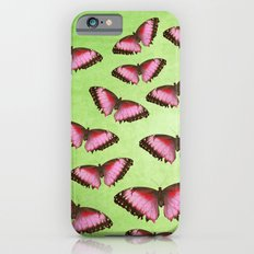 Pink butterflies! Slim Case iPhone 6s