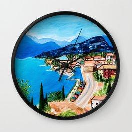 Lake Garda, Italy Wall Clock