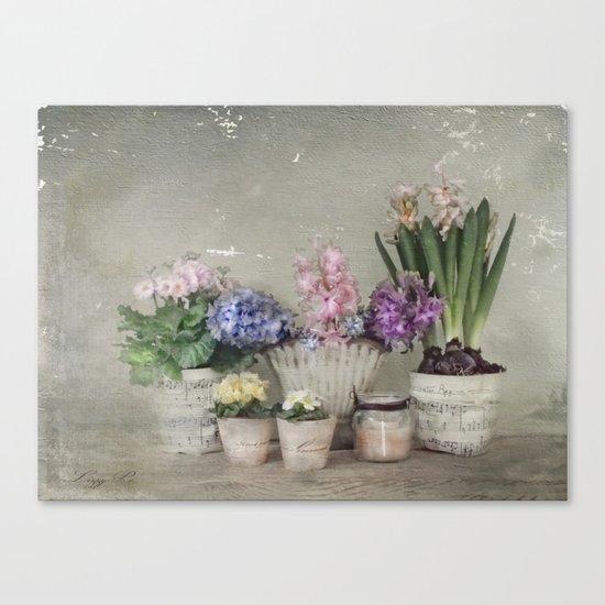 longing for springtime Canvas Print