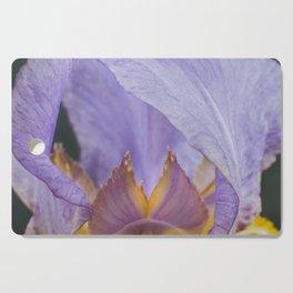 Iris Flower Cutting Board