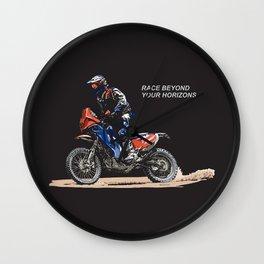Race Beyond | Dark Wall Clock