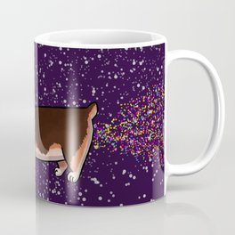 Sparkle Fart Corgi Coffee Mug