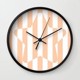 Star Stripes Wall Clock