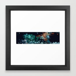 WOLFMAN Framed Art Print