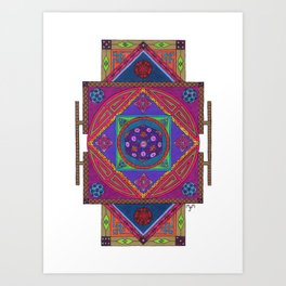 Just Another Roll of the Dice Art Print