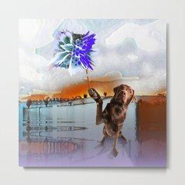 Dog Vision. Metal Print