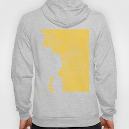 Burlington map yellow Hoody