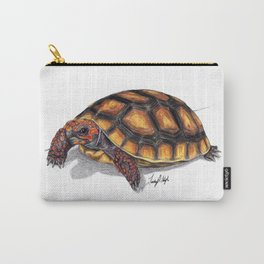 Red Footed Tortoise Carry-All Pouch