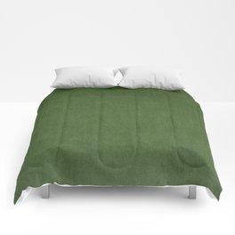 Sage Green Velvet texture Comforters