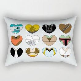 SW Character Hearts Rectangular Pillow