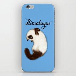 Himalayin' (Blue) iPhone Skin