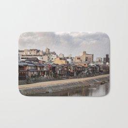 Urban landscape in Kyoto Bath Mat